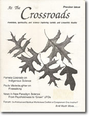 At The Crossroads Preview Issue  - Feminist Magazine Exploring Spirituality and New Paradigm Science