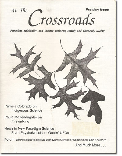 At The Crossroads Preview Issue - Indigenous Science, Firewalking