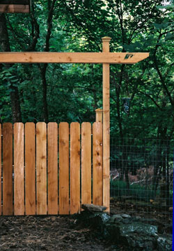 Cedar Gate, 5ft wide,4 ft high