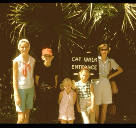 Our family in 1958.