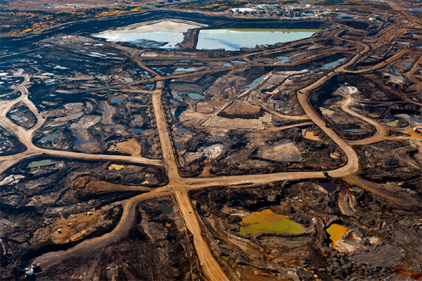 Tar sands devastation