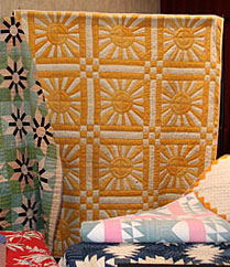 Rescued Quilt: Golden Sunrise