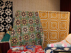 Special Exhibit of Two Color Quilts